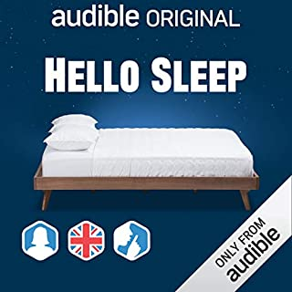 Hello Sleep: UK/Female/Silence Background cover art