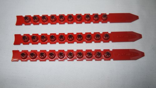 Hilti 416474 DX 450 / DX 460 Kartuschen, Rot, 100 Stück