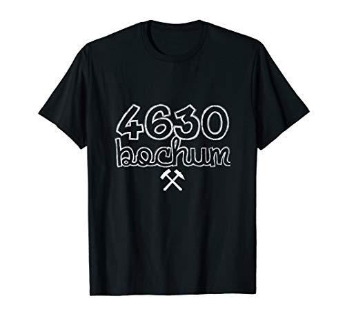 Deine Heimat 4630 Bochum Alte PLZ Ruhrpott Ruhrgebiet T-Shirt