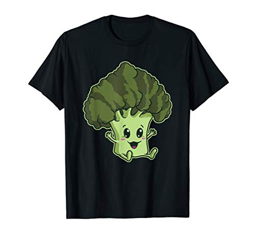 Brokkoli T-Shirt Süsses Baby Gemüse   Vegan Vegetarier
