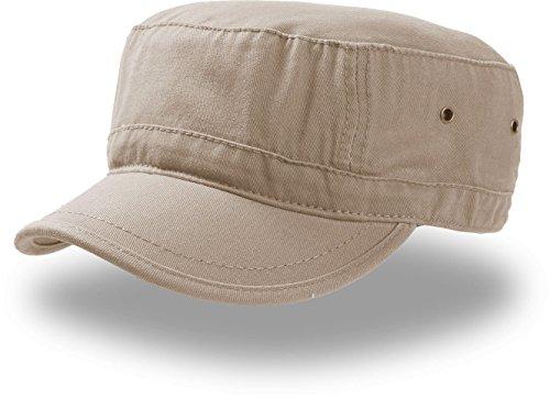 Urban Basic Army Cap Baumwolle Havanna (L/XL (58-61) - beige)