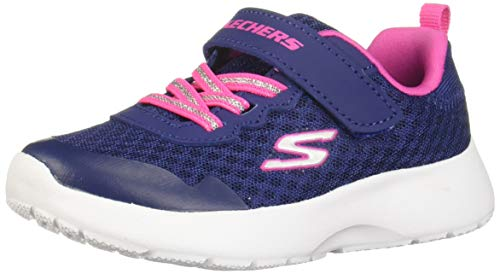 Skechers Dynamight Lead Runner, Zapatillas Niñas, Nvy, 32 EU