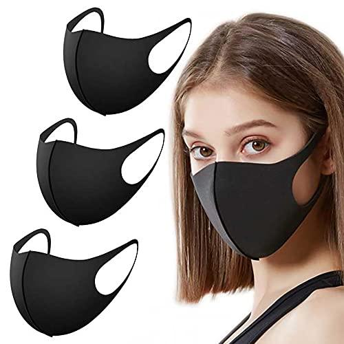 EVMed ™ - Set di 3 Mascherina anti polvere, riutilizzabili e lavabili per esterni, unisex, per uso...