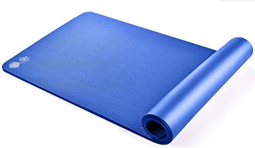 Happy Time Stuoia di Yoga, stuoia di Gomma Antiscivolo dello Sport Opaco, Pacchetto della Cinghia Tre-Parte del Vestito, 185x80cm x10mm,c