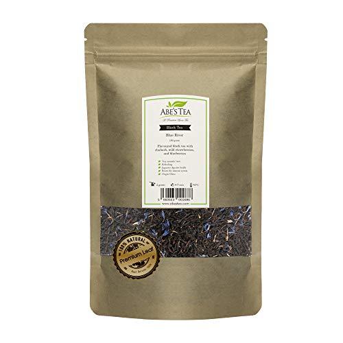 Ingredientes del té DETALLADA: té negro aromatizado con ruibarbo, fresas silvestres y arándanos DESCRIPCIÓN: Una maravillosa mezcla de té negro aromatizado con notas frutales. sabor muy aromático SALUDABLE Y NATURAL: ¡Utilizamos solo las hojas más pu...