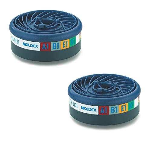 MOLDEX 869400 Filtre /à gaz ABEK 1 pour s/érie 7000 plus 9000 unit/é de conditionnement 10, Lot de 2