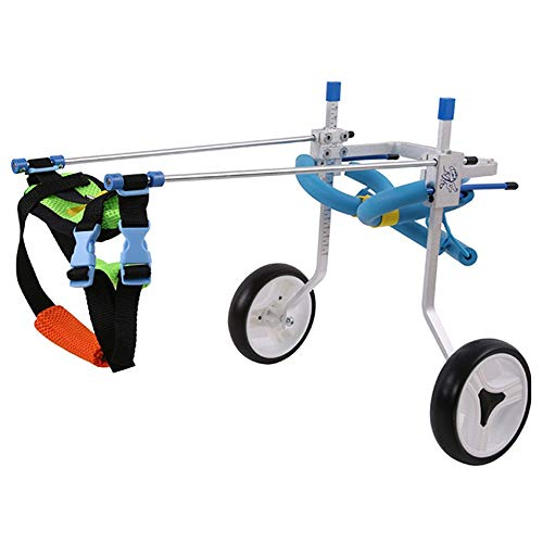 HYYGMT-1 Hond Mobility Harnas, Honden Kinderwagens, Hond rolstoel Kinderstoel Voor Achterpoten, Hond Mobility Harnas Rolstoel, XXXS