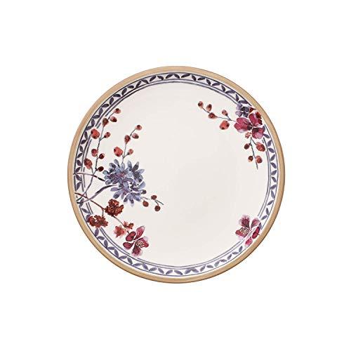 Villeroy & Boch - assiette de petit-déjeuner Artesano Provençal Lavendel ronde à fleurs en porcelaine premium, compatible lave-vaisselle, 220 mm