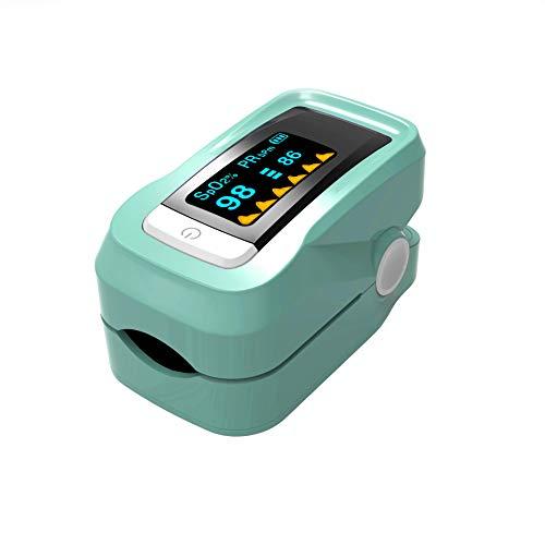 C-Y Pulsoximeter, Fingerblut-sauerstoffsättigungsmonitor Mit OLED-Display,Grün