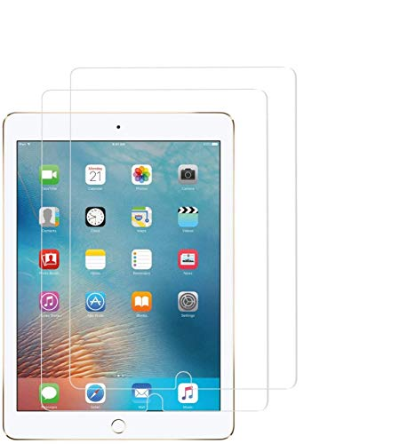 WEOFUN Vetro Temperato per iPad 10.2 2020 2019  iPad Air 10.5   iPad PRO 10.5 ,Pellicola Protettiva [Durezza 9H,Anti-Scratch,Anti-Impronte, Facile da Pulire]