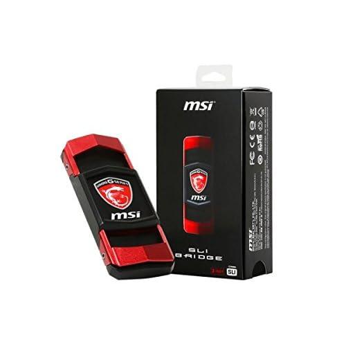 MSI GAMING 4K Video 60mm 2 Way SLI Bridge for GTX 1080 1070 Series Graphics Card