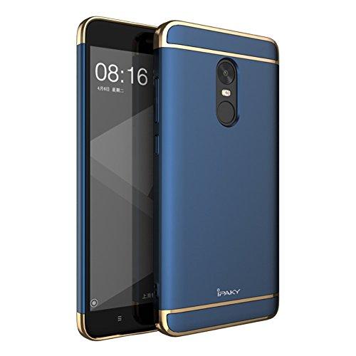 ipaky 3en 1Electronic ropla Ted Plastic Funda Fundas Funda Phone Accessory Para Xiaomi Redmi Note 4x–Blue