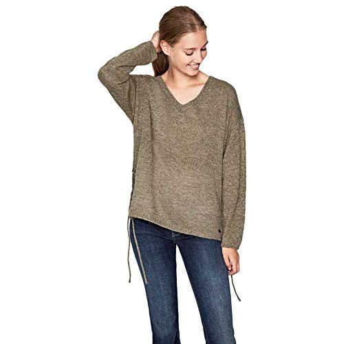Pepe Jeans Misshine Felpa, (Light Khaki 715), Large Donna