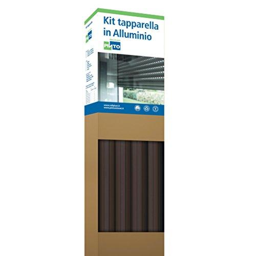 Rollplast ALLKTASM0700000123016001 aluminium profiel 1255 gemakkelijk te monteren, zuinig, duurzaam. Kleur goudkleurige kop