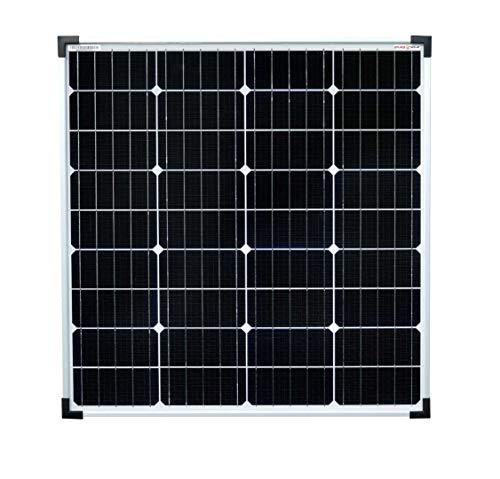 enjoysolar® hochwertiges Monokristallines Solarpanel Solarmodul ideal für Wohnmobil, Gartenhäuse, Boot (80W)