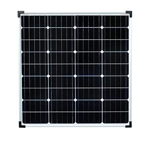 Enjoysolar® Solar module Mono 80W 12V zonnepaneel ideaal voor camper, tuinhuis, boot