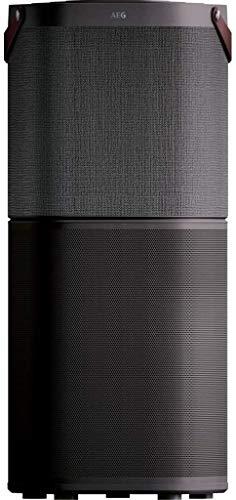 AEG AX91-604DG Luftreiniger (Beseitigt 99,9% luftgetragener Bakterien, nur 17 dB(A), Automatik-Modus, Luftqualitätsanzeige, leistungsstarke Filter, App-Steuerung, bis 129 m² Raumgröße, dunkelgrau)