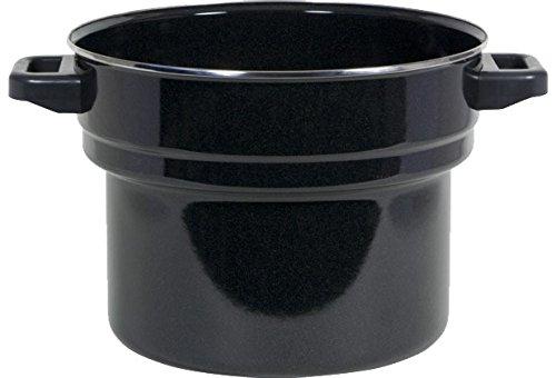 BIELMEIER Simmertopf Simmereinsatz für Einkochautomaten Emaille 27 Liter BHG431