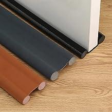 Door Air Stopper Door Bottom Seal Door Draft and Dust Stopper Color Door Insect Protector (Black, 100)
