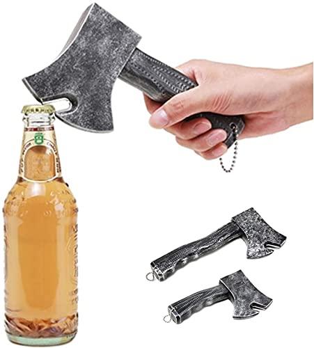 VNMG Creatividad Abrebotellas Refrigerador Magnético Thor's Axe Sacacorchos Cerveza Abridor Regalos Creativos Y Divertidos para Tus Amigos (17CM)