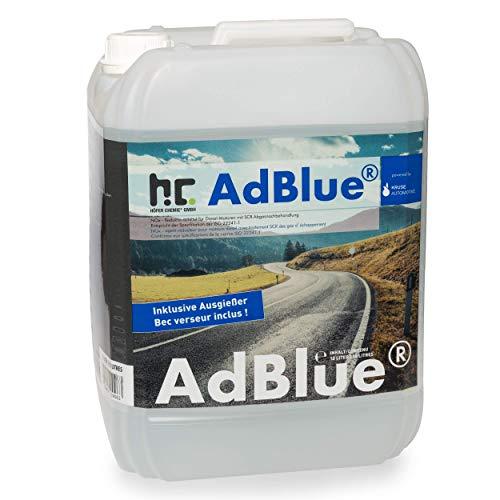Höfer Chemie AdBlue® 6 x 10 L - Auto Harnstofflösung von Kruse Automotive verringert Emissionen von Stickstoffoxiden um 90% bei SCR-Systemen