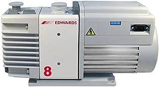 EDWARDS VACUUM A65401906 Rotary Vane Dual Stage Mechanical Vacuum Pump, 115/230V, 1-ph, 50/60 Hz, Factory Set to 115V for USA
