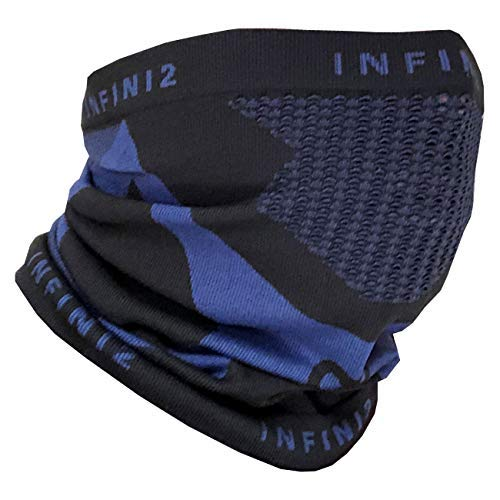 Neck Gaiter Windproof for Outdoor Sports like Walking, Cycling, Skiing, Running, Riding and Camping Neck Warmer Men & Women (blue)