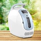 BABIFIS Concentrador de oxígeno portátil Generador Máquina AC110 / 220V purificador de Aire de Suministro de O2 Hogar Uso hospitalario y 24Horas Continuamente