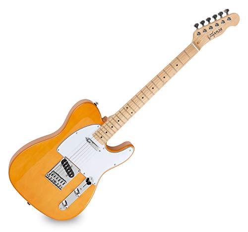 Shaman Element Series TCX-100BL - E-Gitarre in TL-Bauweise - geölter Hals aus Ahorn - Ahorn-Griffbrett - blond