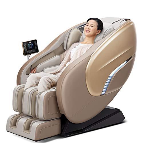 ZHJIUXING ZH Silla eléctrica Masaje shiatsu -Professional Relax Sillón - Gravedad Cero con 6 programas automáticos magnética, masajeador ionizador y calefacción Sistema