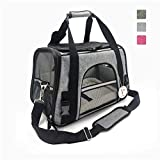 Susupet Airline Approved Pet Carrier Soft-Sided Cat Carrier and Dog Carrier for Small Dogs and Cats, Fits Underneath Airplane Seat.