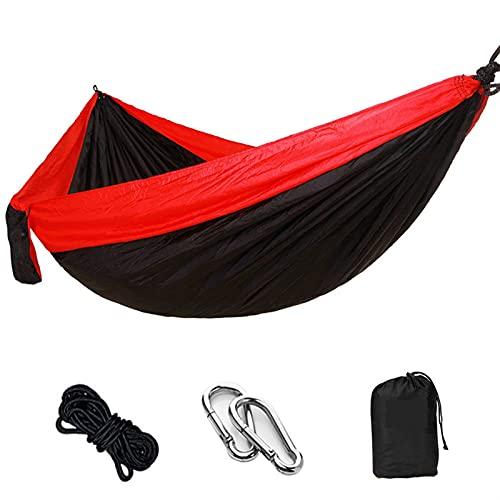 FDSJKD Hängematte Camping Survival Swing Schlafendes Bett für 2 Personen Jagd Reisen Indoor Garten Hängematten Bett (Color : F)