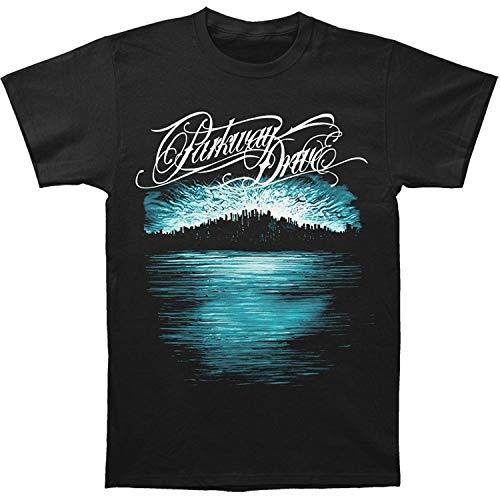 Parkway Drive Men's Deep Blue Skyline Short Sleeve T-Shirt