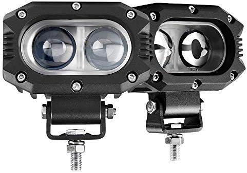 BraveWAY LED Pod Lights 4 inch 2pcs Spot Beam Driving Lights Fog Lights LED Work Light for Truck product image
