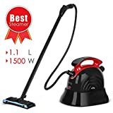 SIMBR Steam Cleaner, Best Steam Mop, Maximum 6M Cleaning Radius, 1.1L Multipurpose Steamer