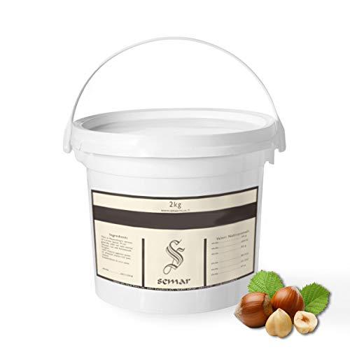 Crema de chocolate con avellanas blancas paquete de 1 kg Hecho