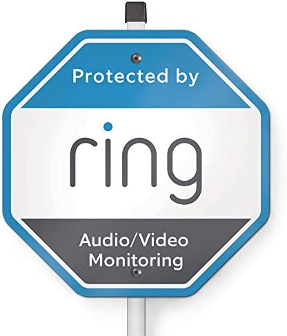 Ring Security Yard Sign product image