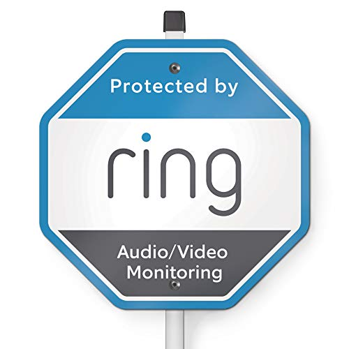 Ring Security Yard Sign