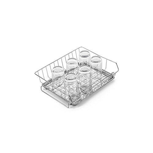 Étagère Lingyun Porte-gobelets en acier inoxydable 304 ➫ Porte-fruits ❀ Fournitures de cuisine ❁ Tablette métallique multifonctionnelle ❀ Plat à légumes ❁ Plateau à plateaux ❀ Panier de vidange