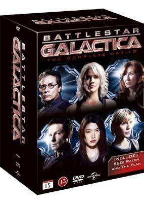 Kampfstern Galactica / Battlestar Galactica (Complete Series) - 26-DVD Box Set ( ) [ Dänische Import ]