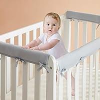 Western Home 3-Piece Baby Crib Rail Cover Set