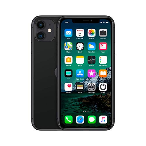 Apple iPhone 11, 64GB, Purple - Unlocked (Renewed Premium)