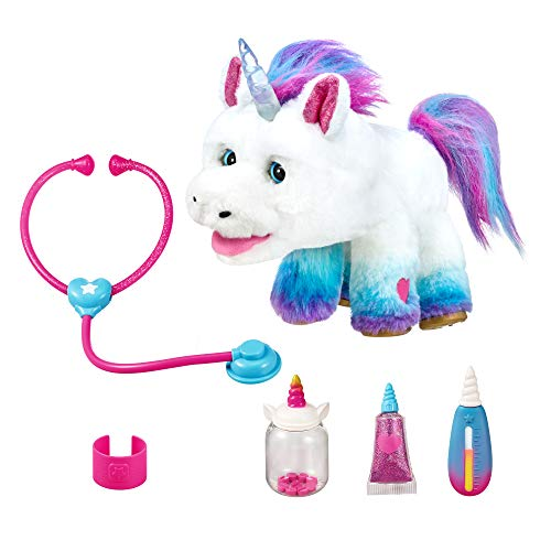 The Rainglow Unicorn Vet Set is one of the latest toys for girls in 2019