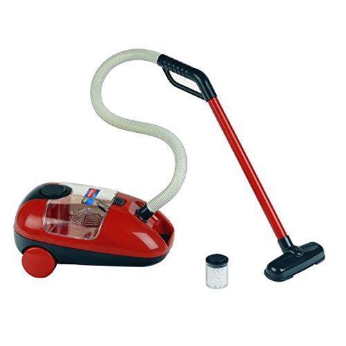 Theo Klein 6719 Vileda Staubsauger I Batteriebetriebener Kinderstaubsauger mit Sound-und Saugfunktion I Maße: 17 cm x 29 cm x 15 cm I Spielzeug für Kinder ab 3 Jahren