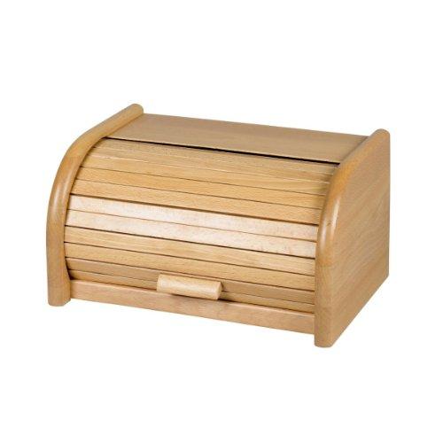 Preisvergleich Produktbild Kesper Rollbrotkasten 'Buche' klein Maße: 30 x 20 x 16 cm