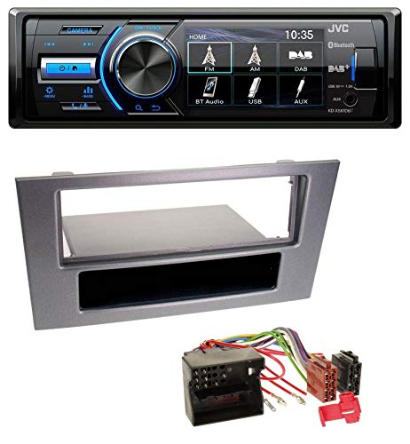 JVC KD-X561DBT Bluetooth MP3 USB DAB Autoradio für Ford Mondeo ab 03 OEM-Visteon-Sony Radios