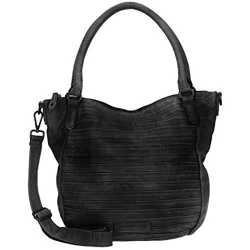 FREDsBRUDER Damen Handtasche Herzchen schwarz One Size