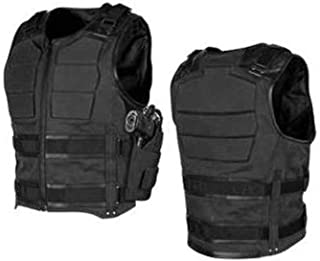 Speed and Strength True Grit Armored Men's MX Motorcycle Vest - Black X-Large