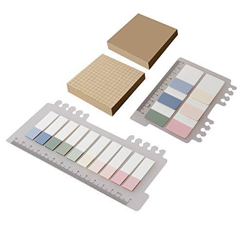 Foglietti Adesivi Colorati, Set Note Autoadesive 420 Fogli Segnapagina Etichette