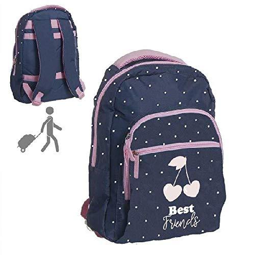 DCASA Escolar Best Friends Mochila Tiempo Libre y Sportwear, Adultos Unisex, Multicolor (Multicolor), Talla Única